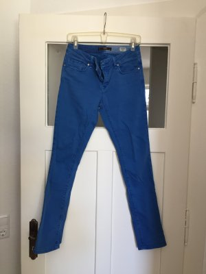 Knallblaue Jeans 27/32