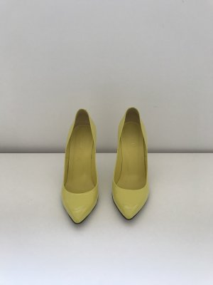 Gucci High Heels yellow leather