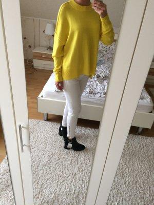 Knallgelber Pullover h&m gelb
