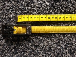 Versace Jeans Couture Belt yellow