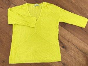 Mango Maglione lavorato a maglia giallo neon