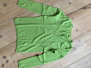 Knallgrüner Cashmere Pullover sale