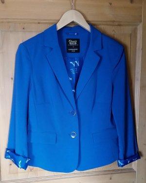 Knallig blauer Blazer