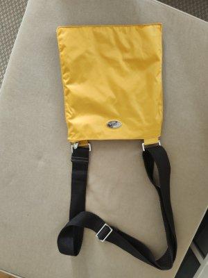knallig gelbe Furla Umhängetasche