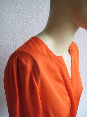 knallig orange Bluse von H&M, clean colour Chic