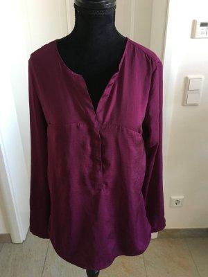 knallige Bluse Business elegant S.Oliver Lila Pink
