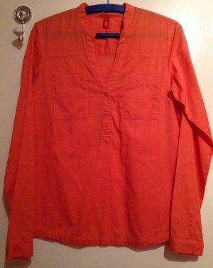 Knallige orangefarbene Bluse von Esprit