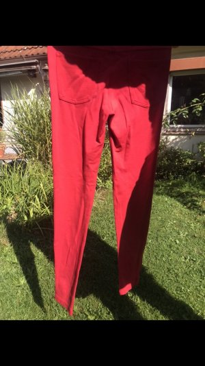 H&M Jeggings rojo-rojo claro Viscosa