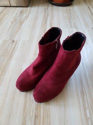 knallige Schuhe, Stiefeletten, Gr. 37