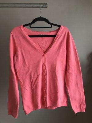 Colours of the World Pullover all'uncinetto rosa-magenta