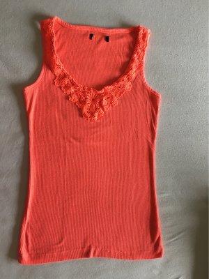 Primark Top en maille crochet multicolore