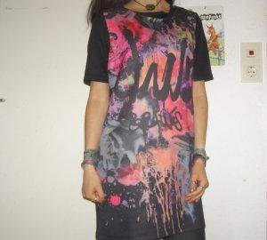 knalliges VILA Shirtkleid
