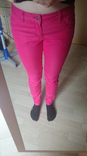 Knallpinke Skinny Jeans