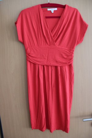 L.k. bennett Midi-jurk rood-baksteenrood