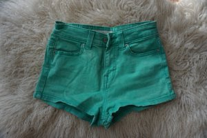 Knappe Highwaist Hot Pants