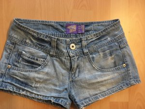 Knappe Jeanshotpants