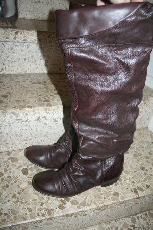 Knee-High Stiefel braun Gr. 40