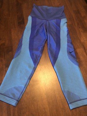 Nike Pantalone da ginnastica blu neon-blu fiordaliso
