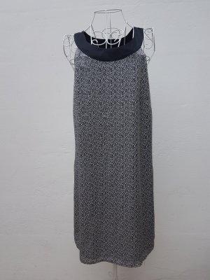 H&M Off the shoulder jurk wit-zwart