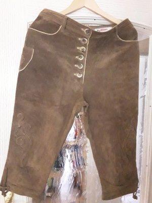 Alphorn Pantalone in pelle cognac Pelle