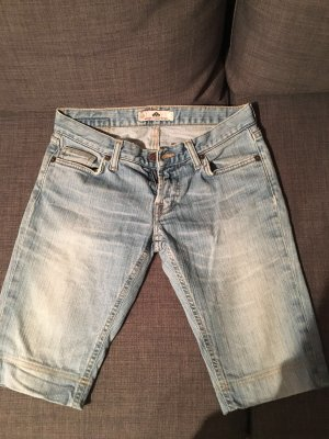 Knielange lässige Jeanshose