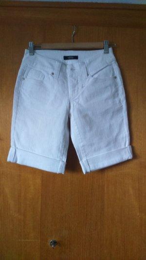 knielange weiße Jeans von melrose