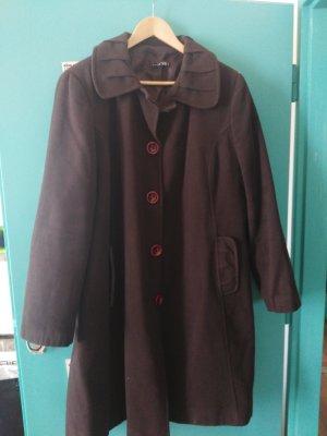 Giacca di lana marrone scuro