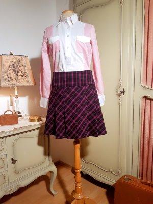 Apostrophe Plaid Skirt multicolored mixture fibre