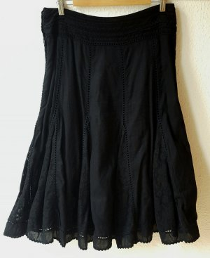 Lace Skirt black cotton