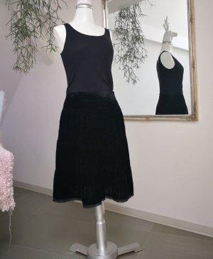 3 Suisses Midi Skirt black polyester