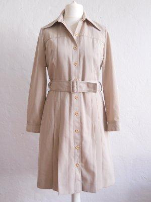 Knielanger Vintage Mantel Trenchcoat Gr. 40