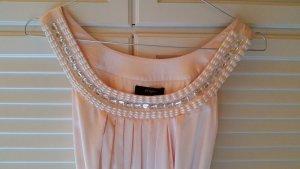 knielanges Ballonkleid in rosé
