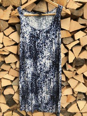 knielanges Jersey-Kleid