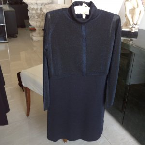Knielanges Kleid mit Bolero Jacke