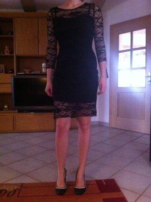 Knielanges netz Kleid