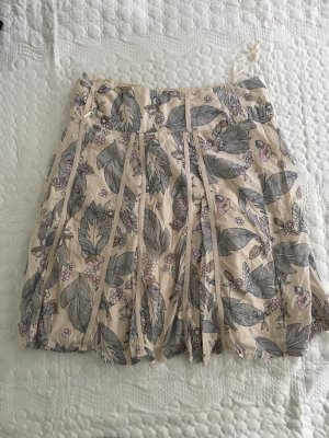 Vero Moda Jupe à plis crème