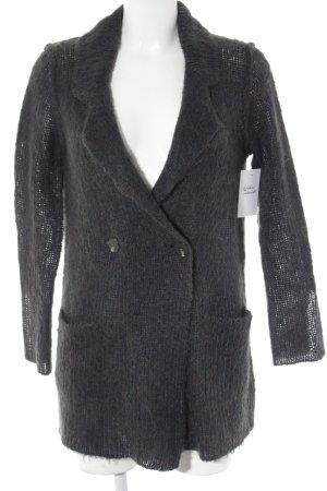 knit-ted Strickjacke Webmuster Casual-Look