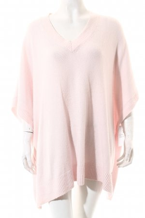 knit-ted Strickponcho hellrosa Casual-Look