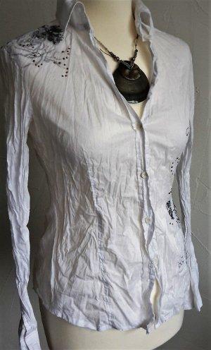 Knitter-Bluse Crinkle-Bluse ESPRIT Gr. S