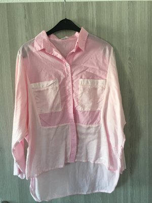 Knitterbluse Gr. M in rosa