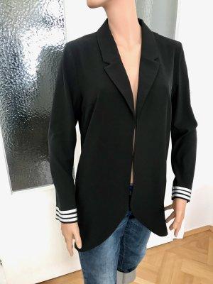 5 Preview Long Blazer black synthetic fibre