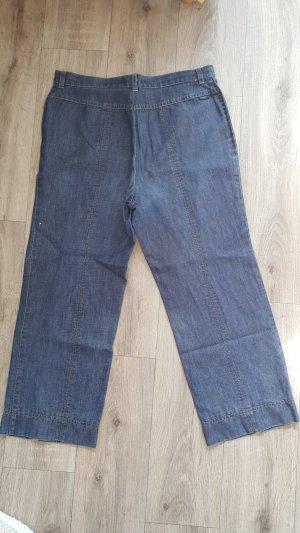 Gardeur Lage taille broek blauw
