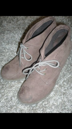 Bata Bottines gris brun