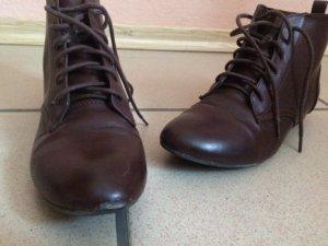 H&M Veterschoenen zwart bruin