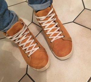 Knöchelhohe Sneaker Gr. 41 mit warmem Futter