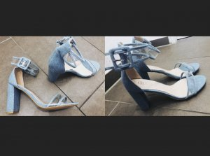 Amazone Sandalen met bandjes lichtblauw