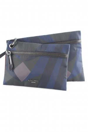 KNOMO London Pochette abstraktes Muster Urban-Look