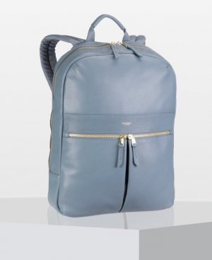 "Knomo Mayfair Luxe Beaux 14"" RFID , Stonewash Blue"