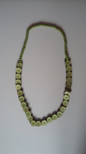 Parelketting grasgroen