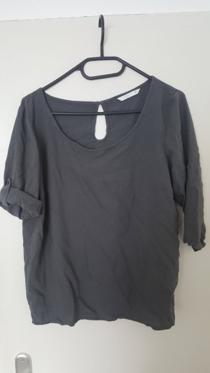 Knopflose Bluse, Only, grau, 38